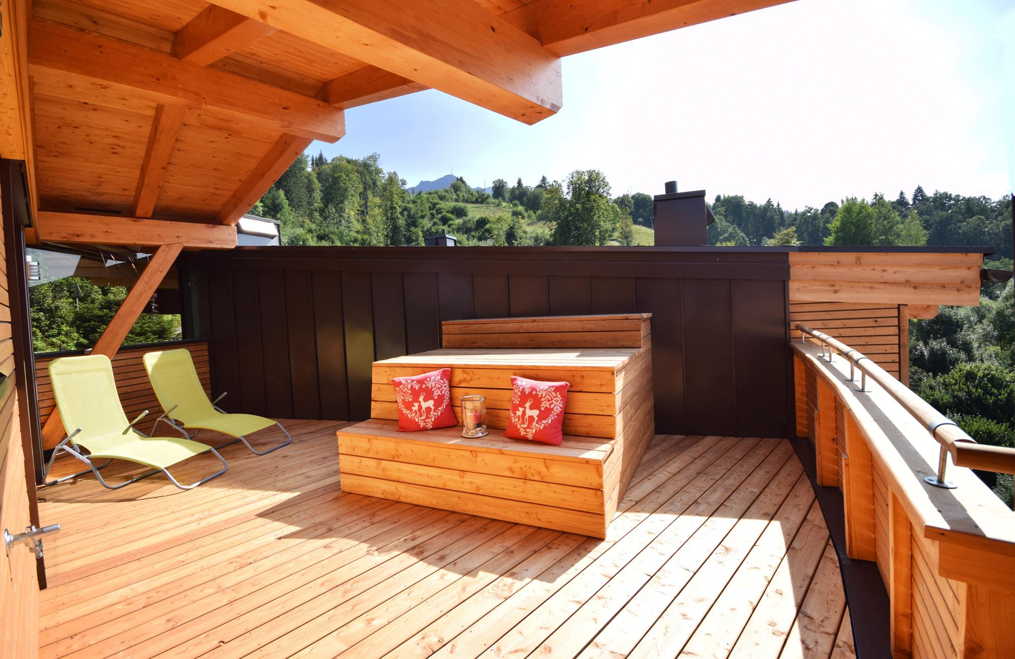 Luxus Penthouse Ferienwohnung mit Ausblick zum Kitzbüheler Horn 7