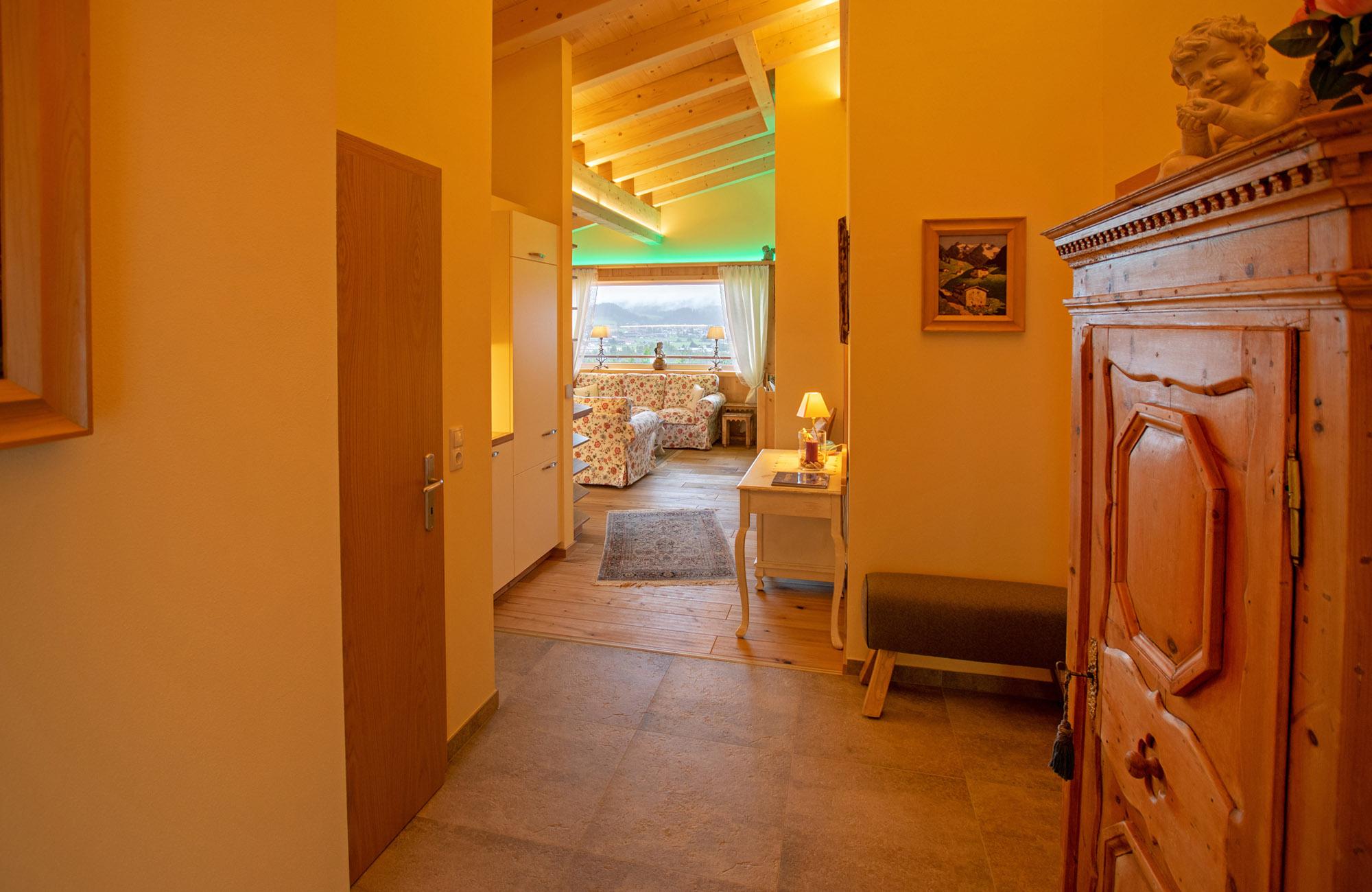 Luxus Penthouse Ferienwohnung mit Ausblick zum Wilder Kaiser 11