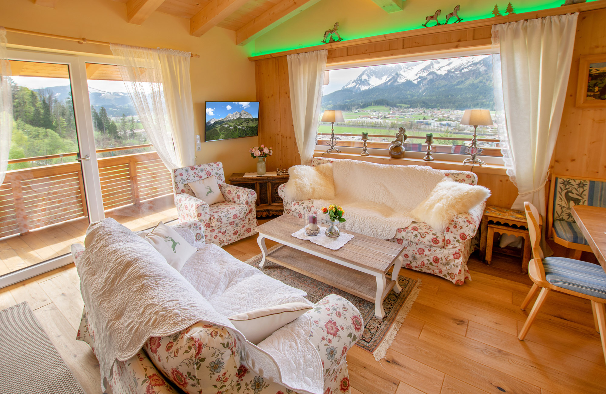 Luxus Penthouse Ferienwohnung mit Ausblick zum Wilder Kaiser 4