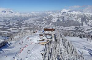 Ferienwohnung im Skigebiet Kitzbüheler Alpen Hahnenkamm Streif