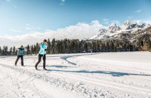 Ferienwohnung in den Kitzbüheler Alpen Langlauf Loipe