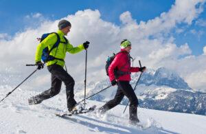 Ferienwohnung im Skigebiet Kitzbüheler Alpen Schneeschuhwandern