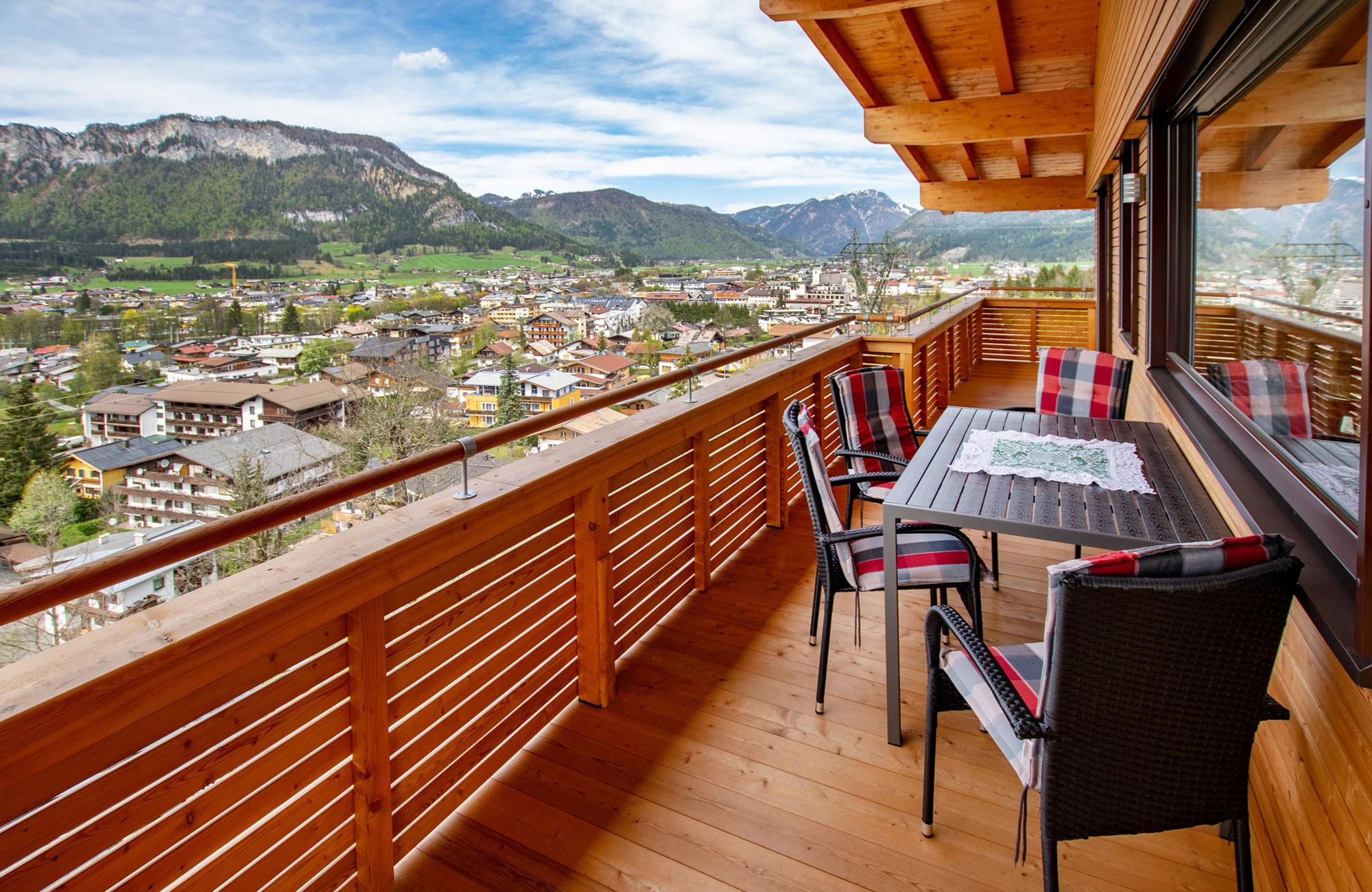 Luxus Penthouse Ferienwohnung mit Ausblick zum Wilder Kaiser 3